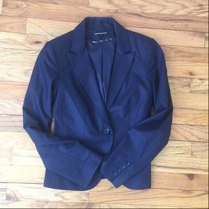 Expres Design Studio Navy One Button Blazer